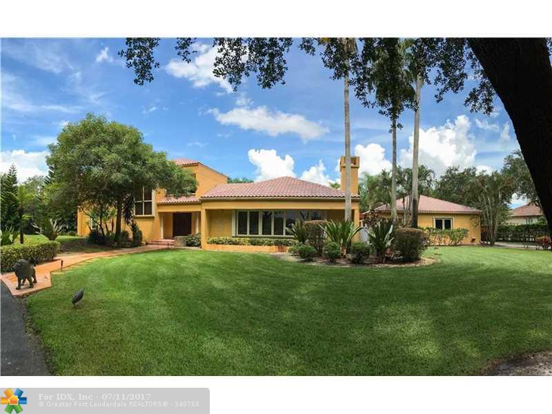 5400 THOROUGHBRED LN, Southwest Ranches, FL 33330