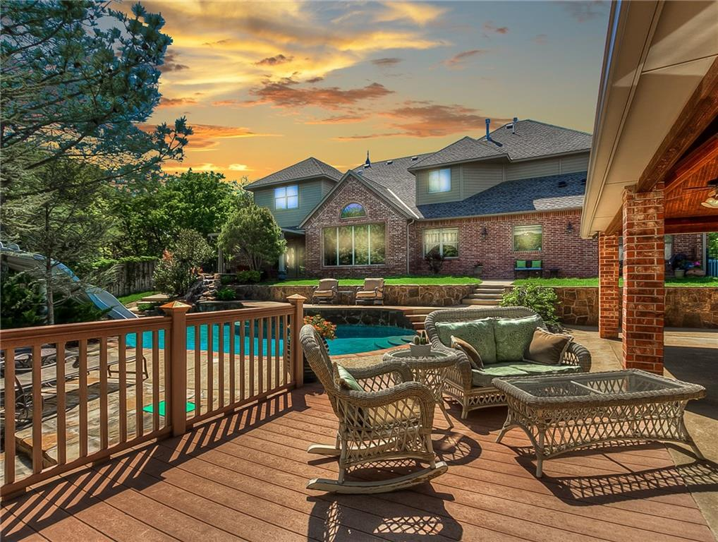 "Welcome to paradise in your own backyard! This exquisitely custom built, one owner home will absolutely blow you away from the moment you walk through the front door. From the gorgeous hardwood & travertine floors, to the soaring ceilings opening up to views of your wooded 1/2 acre resort backyard, it will be hard to decide which features of this home you love the most. The chef in your family will find an entertainer's dream kitchen, from the commercial 48"" Thermador range w/double ovens & griddle, to the built in Miele espresso bar, cabinet front Sub-Z style side by side fridge/freezer, copper farmhouse sink, ice maker & walk-in prep space that can also be used as a terrific craft or flex room. Light the fireplace in the master suite for a luxurious retreat w/patio entry to the privacy of the outdoor hot tub. Upstairs media room & separate game room, plus 4 guest beds all w/full baths. The incredible pool area features a cabana w/full kitchen that you simply have to see to believe."