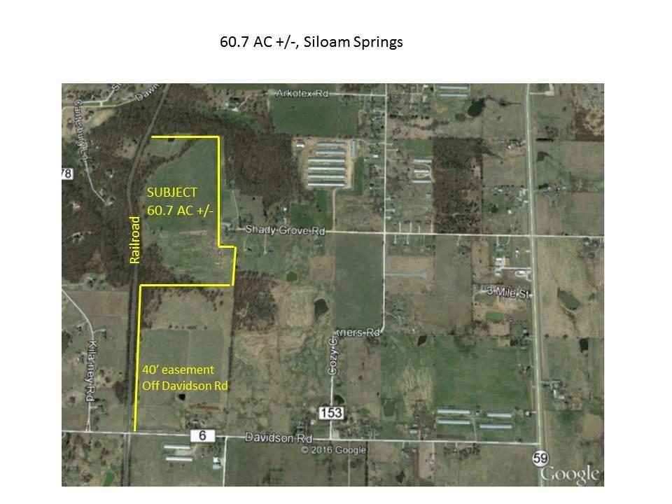 60.7 AC Davidson RD, Siloam Springs, AR 72761
