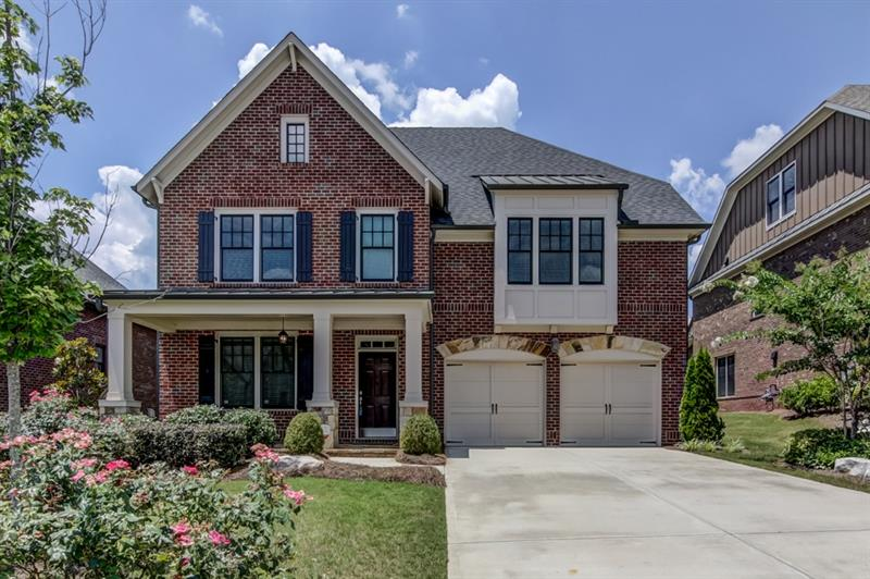 Stunning newer construction in Brookhaven's Reserve at Brookleigh! Ideal for entertaining, kitchen has s/s apps,silestone counters,lg island & b'fast area & opens to fam rm w/ built-ins & gas FP. Oversized master offers trey ceiling,lg walk-in closet & bath w/ dble vanity,soaking tub & sep shower. Add'l bdrms well-sized & bright. B'ful trim/hdwds throughout! Laundry up! Outdoor space includes porch,patio, & flat b'yard! Top schools including Montgomery ES! HOA covers yard & pool! #1 location close to Brookleigh Central & Blackburn Parks,Pure,Marlow's & new Whole Foods!