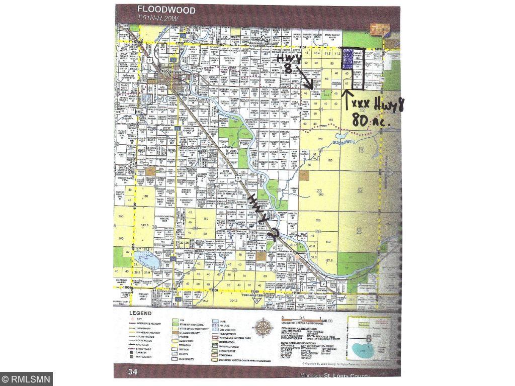 XXX HWY 8, Floodwood Twp, MN 55736