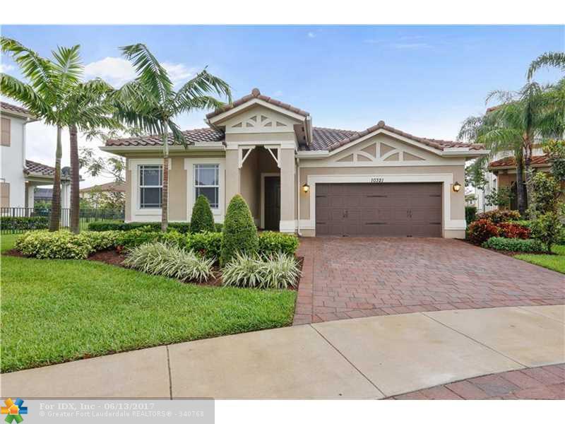 10321 Waterside Ct, Parkland, FL 33076