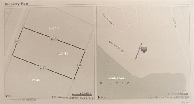 Vacant Hammerslea Lot 45, Orion Twp, MI 48359