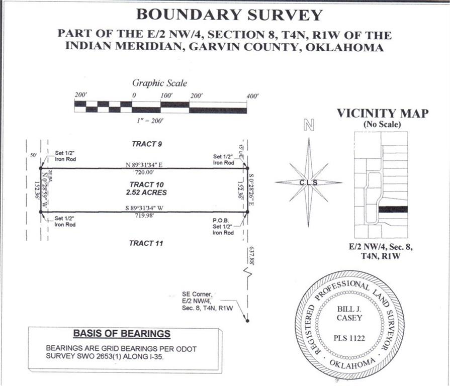 N County Road 3183 (Tract 10), Paoli, OK 73074