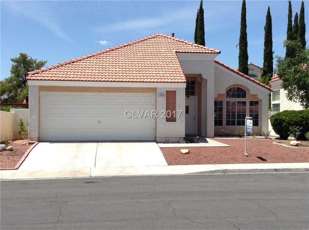 3033 FOREST LAKE Street, Las Vegas, NV 89117
