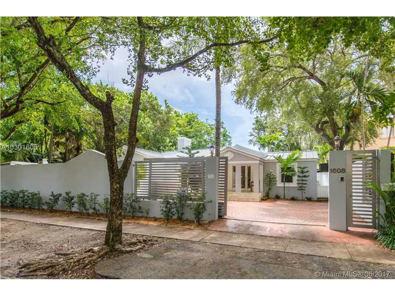 1608 Tigertail Ave, Coconut Grove, FL 33133
