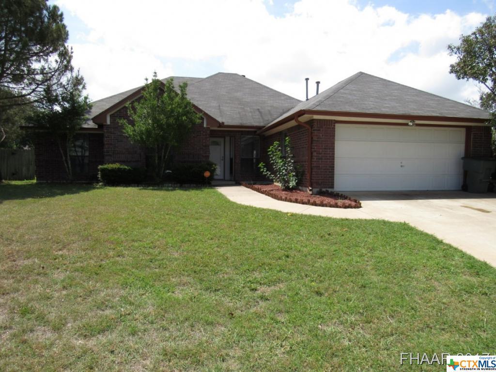 3304 Pebble Drive, Killeen, TX 76542