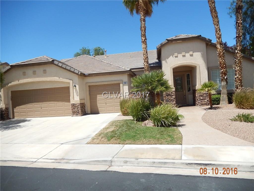 2487 SILVER BEACH Drive, Las Vegas, NV 89052