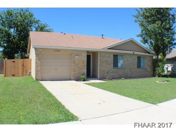 1704 Mona, Killeen, TX 76549