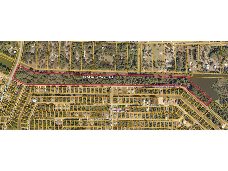 NARCISSUS TERRACE, NORTH PORT, FL 34286