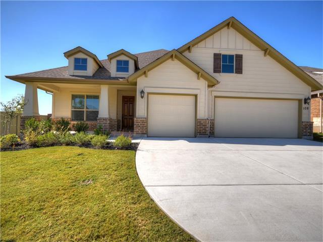 108 Hedgerow Ln, Liberty Hill, TX 78642