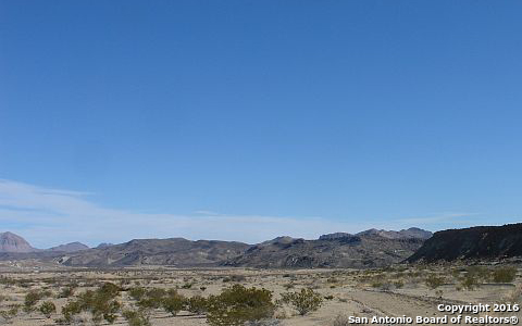 TBD See Legal, Terlingua, TX 79852