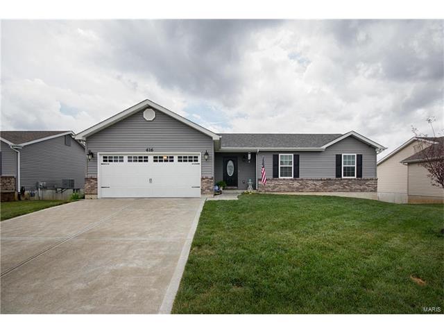 416 Prairie Creek Drive, Foristell, MO 63348
