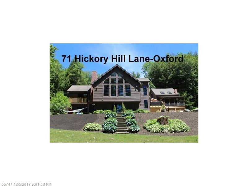 71 Hickory Hill LN , Oxford, ME 04270