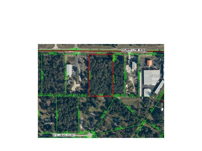 COUNTY LINE RD, SPRING HILL, FL 34610