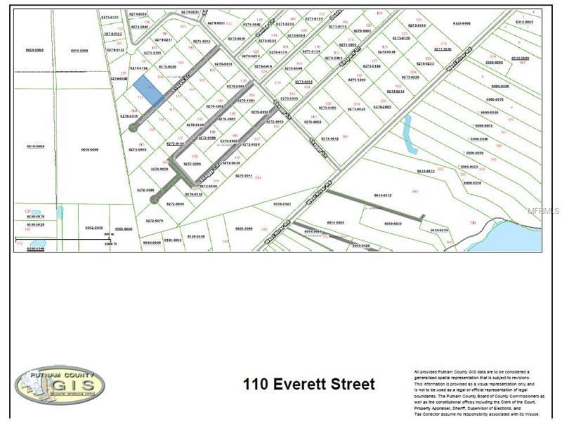 110 EVERETT STREET, PALATKA, FL 32177