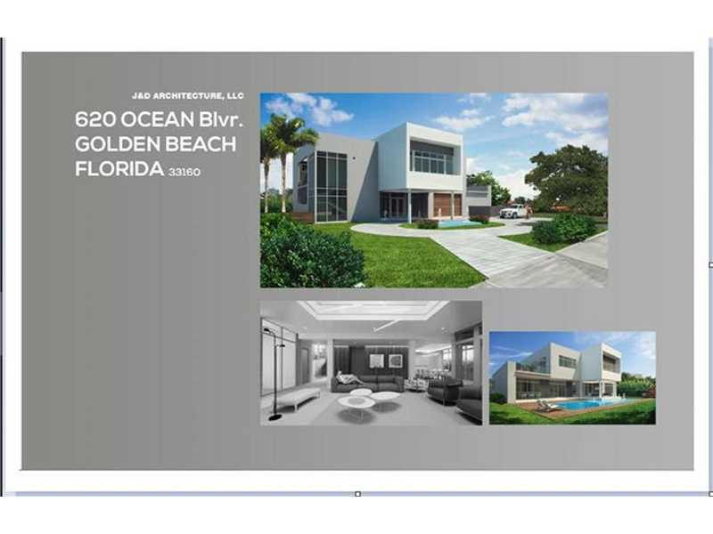 620 Ocean Blvd, Golden Beach, FL 33160