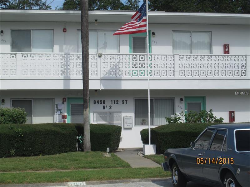 8450 112TH STREET 106, SEMINOLE, FL 33772