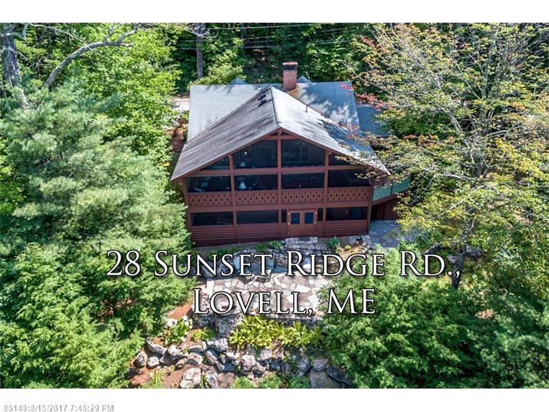 28 Sunset Ridge RD , Lovell, ME 04051