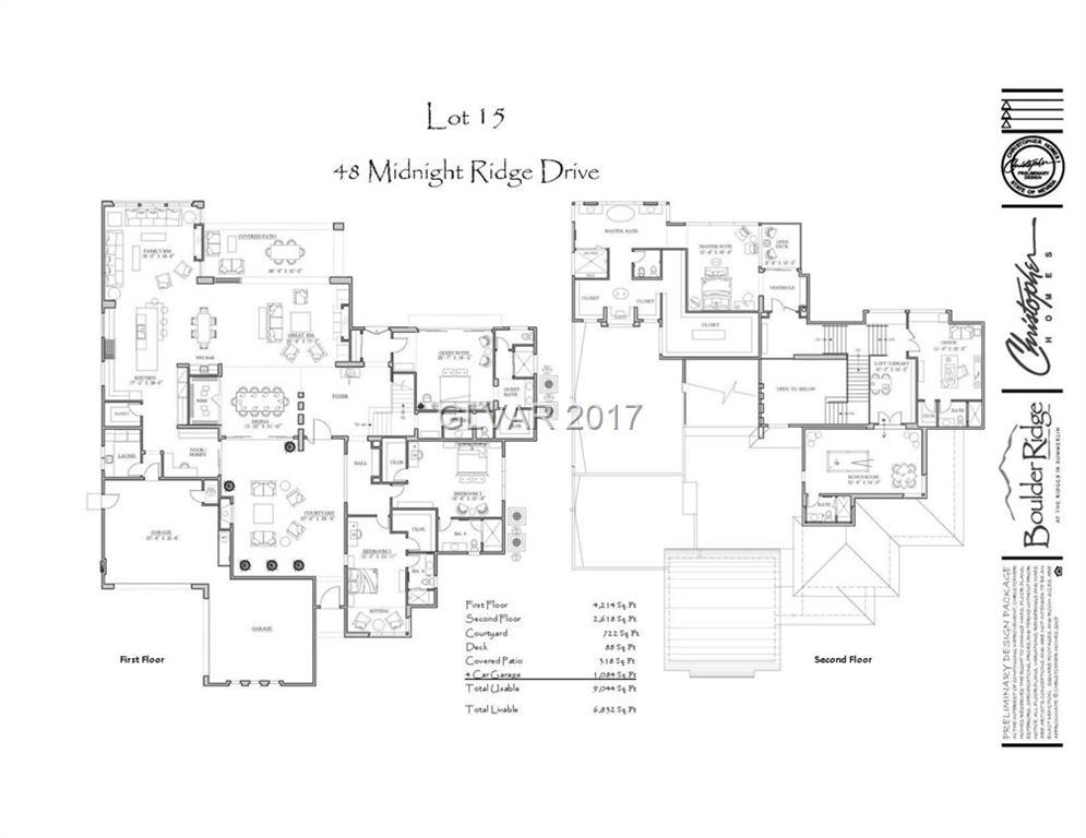 48 MIDNIGHT RIDGE Drive, Las Vegas, NV 89135