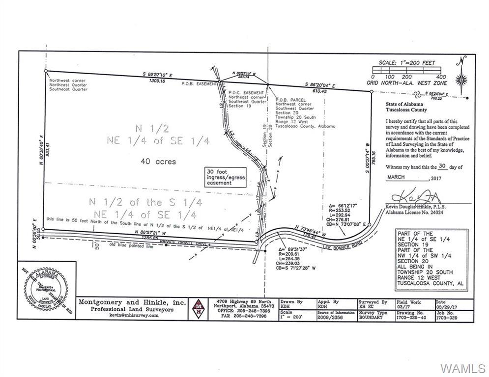 LEE BONNER ROAD, Buhl, AL 35457