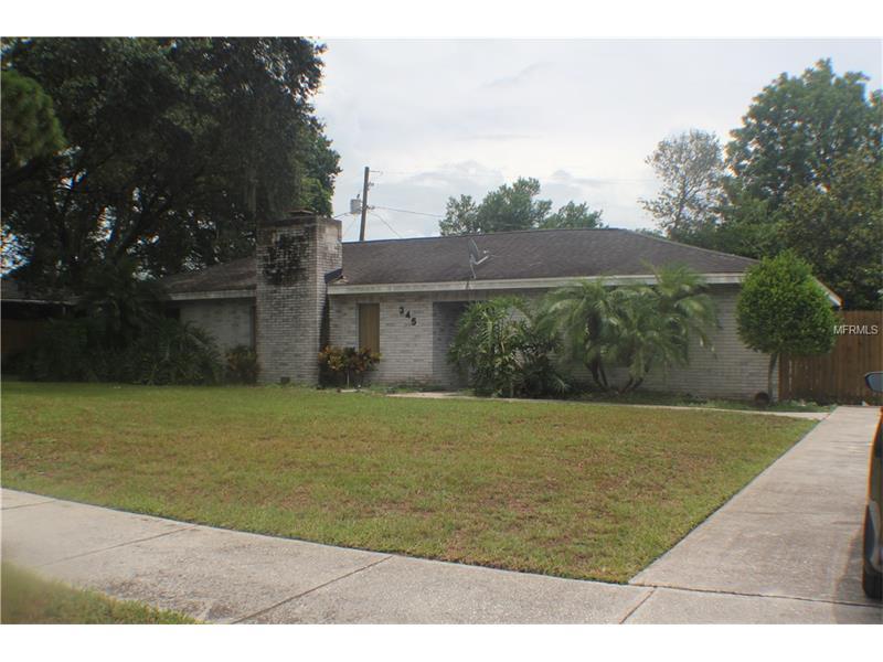 345 E CUMMINGS STREET, LAKE ALFRED, FL 33850