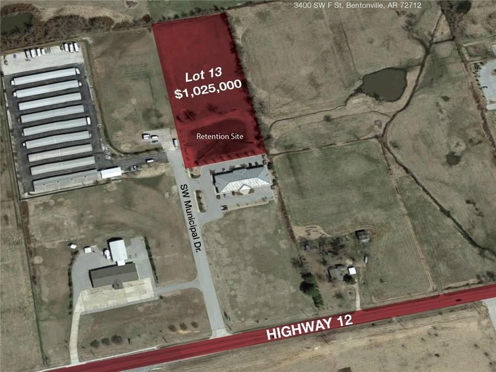 NE Regional Airport Blvd and SW F ST, Bentonville, AR 72712