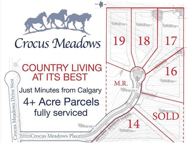 17 CROCUS MEADOWS Place W, Rural Foothills M.D., AB T1S 1A2