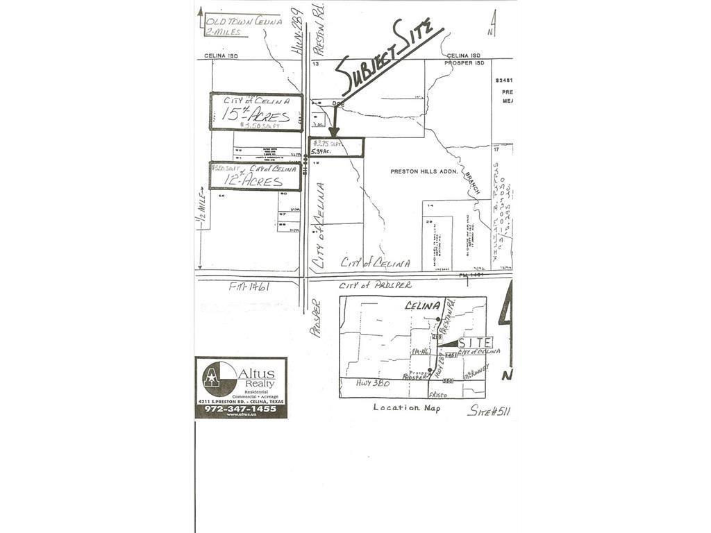 4212 S Preston Rd. Highway, Celina, TX 75009