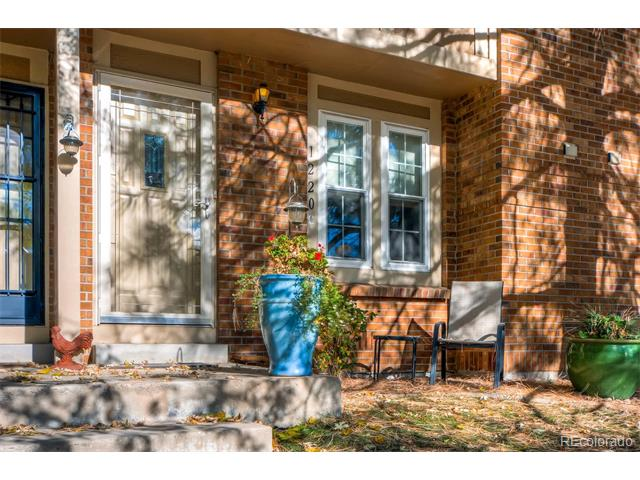 Beautiful, Well Maintained Townhome! Lots of space! Bright and open! Very well cared for and loved home! Newer Traco windows throughout. Hardwood floors downstairs. Newer carpet upstairs. Stainless Steel appliances. Updated countertops. Crown molding above cabinets and updated hardware. Custom blinds throughout! Both bathrooms have been updated with new sinks, cabinets, mirrors and lights. New tile and tub in master bath. All new 6-panel white doors with nickel hardware. New steel door on outside shed. Stacked washer & dryer included! Large closet under stairs leads to crawl space. Crawl space has new wood plank floor and ladder for access for excellent extra storage. Water heater is only 3 years old! Nothing left to do! Just move in!