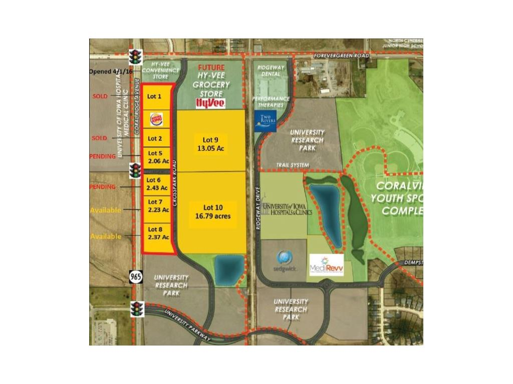Hwy 965/Forevergreen Rd, Coralville, IA 52241