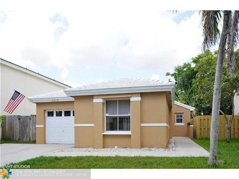 3375 Bonito Ln, Margate, FL 33063