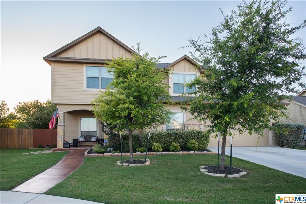 This is a rare find in one of New Braunfels best kept secrets.  Rivermill Crossing is a quiet little enclave nestled in the foothills of New Braunfels, right off Loop 337.  This beautiful 2 story, 3/2/1 with an office, sprinkler system and manicured yard is waiting for you. Large family/game room, bedrooms upstairs.  Master downstairs.  Close to restaurants, movies, entertainment and the river!