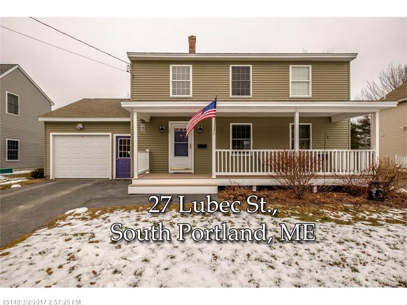 27 Lubec ST , South Portland, ME 04106
