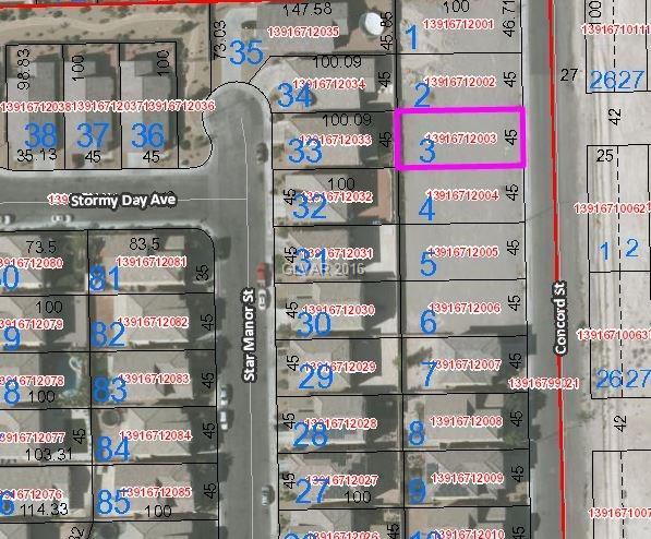 2709 CONCORD Street, North Las Vegas, NV 89030