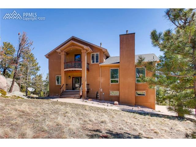 525 Sunrise Peak Road, Manitou Springs, CO 80829