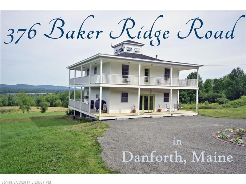 376 Baker Ridge RD , Danforth, ME 04424