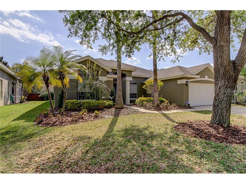 Wonderful 4 Bedroom, 3 Bathroom, 3 Car (tandem) Garage POOL home in the FORDS of WESTCHASE!  Fabulous home located on a cul-de-sac,  freshly painted exterior, professionally landscaped, NEW roof April 2017l!!  The spacious kitchen has white cabinetry, granite countertops, newer GE Café refrigerator, newer GE Café range with double oven, newer GE Café vent.  Other upgrades include Brazilian hardwood floors in living areas, tile in the kitchen and bathrooms, hot water heater (2013), A/C (2006), water softener (2012), sliders to the screened lanai and sparkling pool!  You can walk to all that Westchase has to offer—2 Swim & Tennis Centers, Parks, Playgrounds, Great Schools, West Park Village, Westchase Town Center, shops, restaurants!   Close to Veteran's Expressway, TIA, Downtown and the beaches!