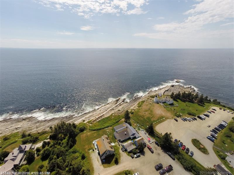 Talk about LOCATION!! With breathtaking views of the Atlantic Ocean, this home, business and 2 bedroom bunkhouse is located next to Pemaquid Lighthouse. For years tourists and locals have been visiting this picturesque spot for a true taste of Maine. Business includes The Sea Gull Gift Shop & Restaurant. After 40 years of operating this seasonal hot spot, owner is retiring. Would be willing to stay on the help with transition. Home rents for $2800 weekly from May-October. A very unique opportunity!!