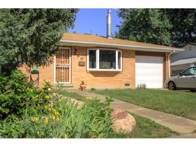 240 Martin Drive, Boulder, CO 80305