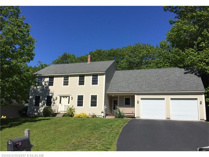 4 Cornerstone DR , Falmouth, ME 04105