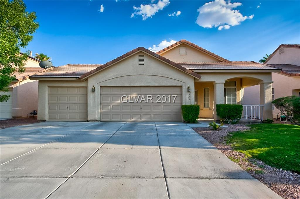 849 SPARKLE RAY Avenue, Las Vegas, NV 89123