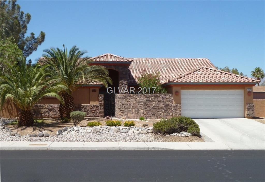 Single story home with 4 beds plus den, 3 baths, in a great location convenient to 95 and Centennial Hills shopping and restaurants.  No HOA, 15,000 sqft lot, RV Parking, pool (lap pool)/spa, granite countertops & custom cabinets in kitchen, stainless steel appliances, laminate and tile flooring, front and back yard low maintenance landscaping.  Move in ready.  This property won't last long.