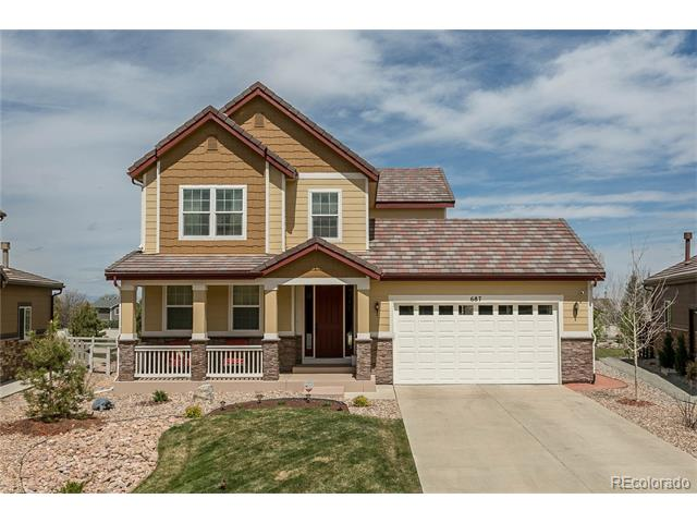 687 Tiger Lily Way, Highlands Ranch, CO 80126