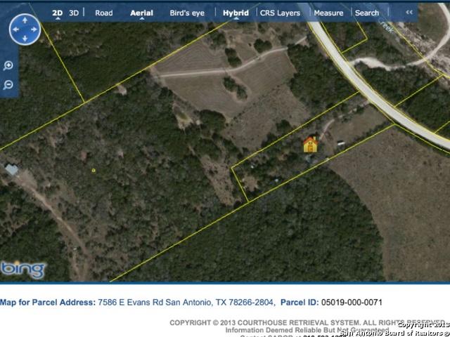 7586 E Evans Rd, San Antonio, TX 78266