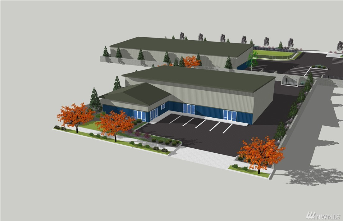 Brand new proposed construction! Incredible owner/user opportunity. Great Henderson Blvd frontage right off Old Hwy 99 by Olympia Airport. Stand-alone building, with just over 5,600±SF of warehouse and another 1,164±SF office, this is an ideal opportunity. Ready to go vertical anytime. Just bring your finishing touches. Very rare industrial office/retail building in a great location.
