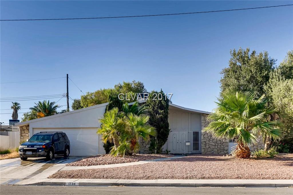 1734 SILVER MESA Way, Las Vegas, NV 89169