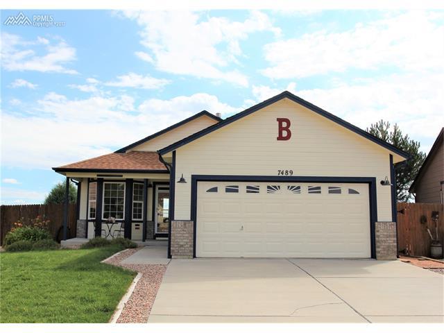 7489 Silver Bow Drive, Colorado Springs, CO 80925