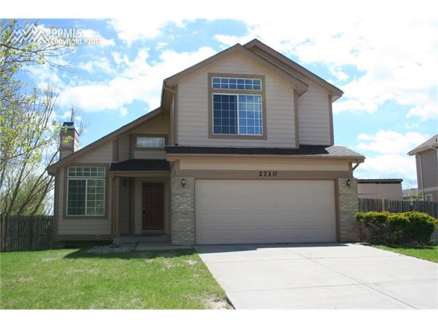 2710 Frazier Lane, Colorado Springs, CO 80922