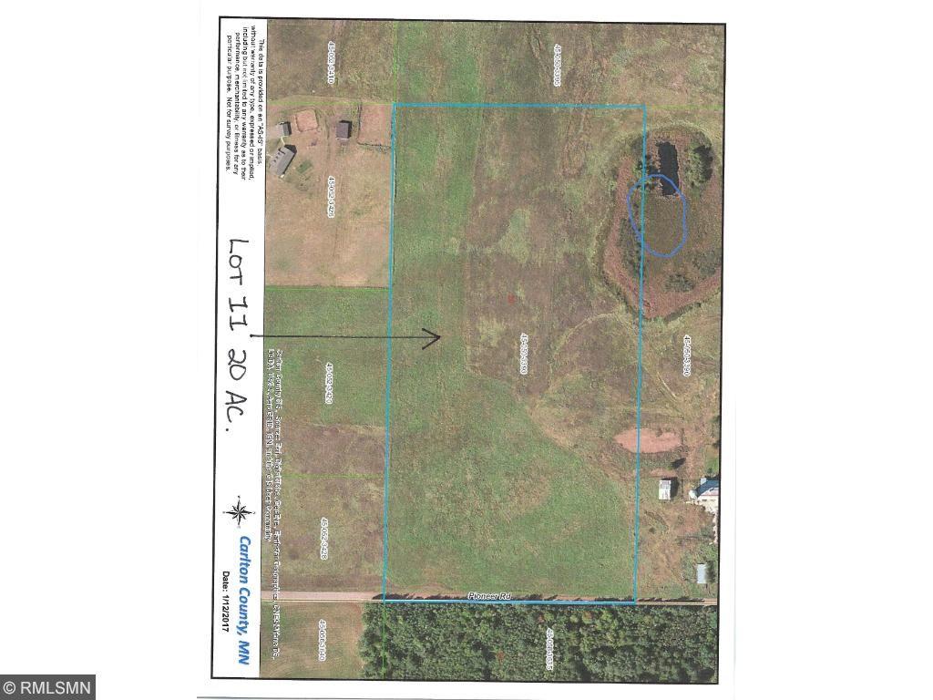 Lot 11 XXX Pioneer Road, Barnum, MN 55707
